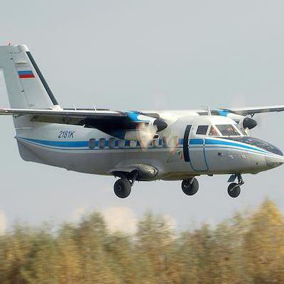 самолет л 410